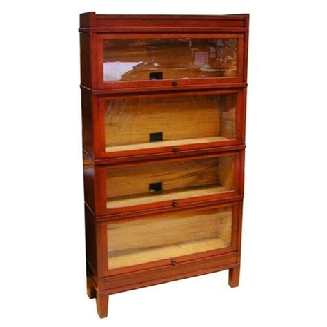 Curio Bookcase by Early 20th C Sectional Bookcase Or Curio Cabinet With