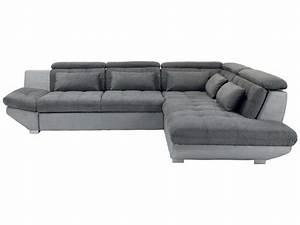 canape tissu conforama maison design wibliacom With canapé d angle droit convertible 5 places eternity