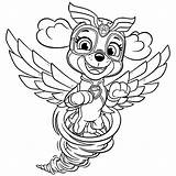 Mighty Pups Paw Patrol Coloring Skye Pages Tornado Super Kleurplaat Everest Coloriage Printable Imprimer Fun Colouring Pup Dessin Puppy Patrouille sketch template