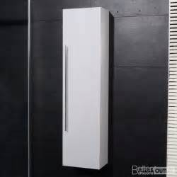 Tall Slim Cabinet Uk by New Bathroom Wall Mounted Hung Side Cabinet Unit Tall