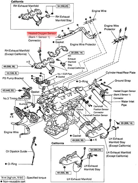1998 Toyotum Avalon Wiring Diagram by 1998 Toyota Avalon Exhaust Diagram Imageresizertool