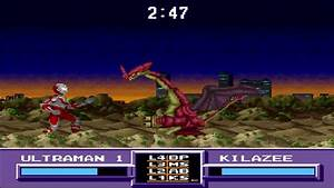 GamePlay - (SNES) Ultraman Towards The Future pt2 - YouTube