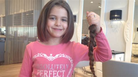 year  girl   haircut   cancer patient