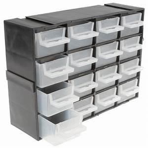 Rs On Line : rs pro black plastic 16 drawer storage unit transparent drawers 160mm x 70mm x 220mm ~ Medecine-chirurgie-esthetiques.com Avis de Voitures