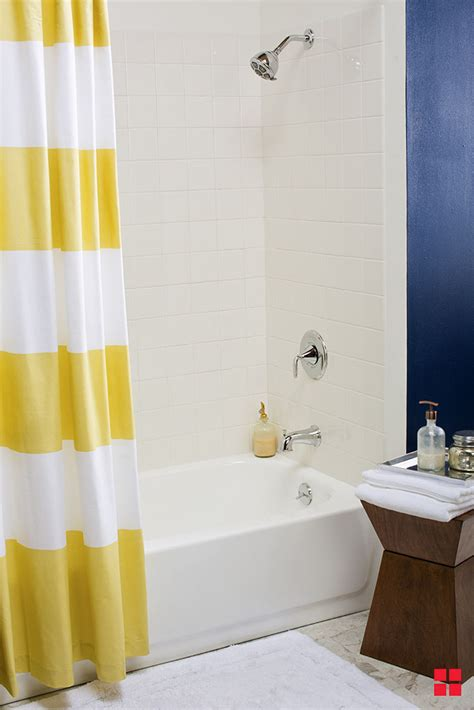 Tiling A Tub Shower by Update Your Bathroom Tub Tile On A Budget
