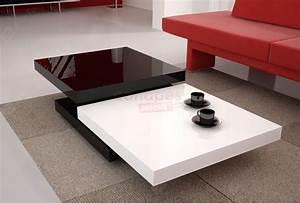 Table Basse Blanche Pas Cher : table salon design pas cher table basse et pliante ~ Teatrodelosmanantiales.com Idées de Décoration