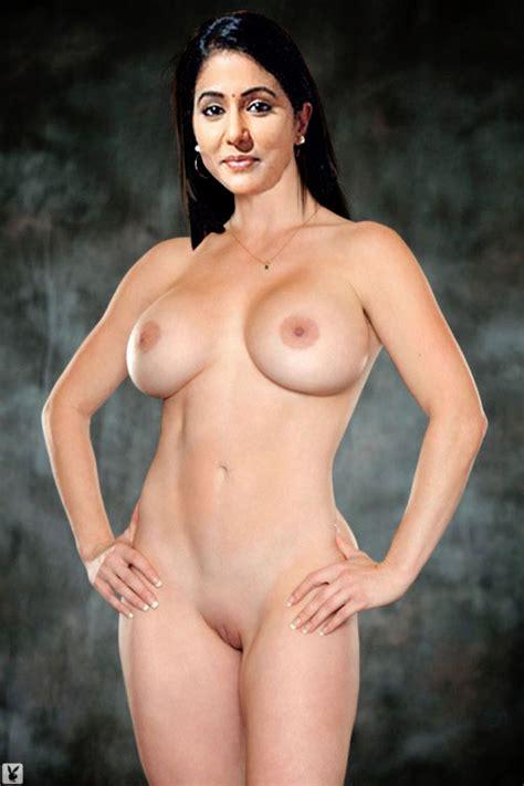 Tv Actress Hina Khan Nude Big Boobs • Actress Fakes
