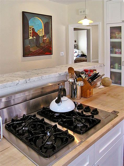 island cooktop vent island with downdraft venting traditional kitchen