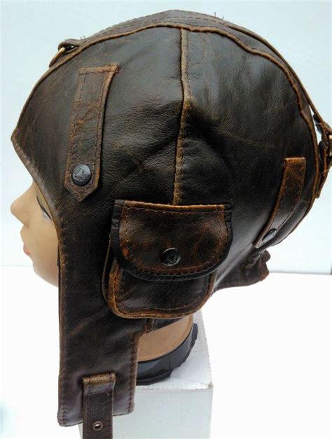 Altes Leder Kaufen by Wwii Vintage Style Handmade Genuine Leather Pilot Aviator