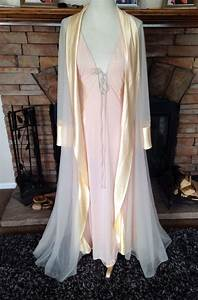 vintage blanche by ralph montenero i magnin nightgown and With robe sexy blanche