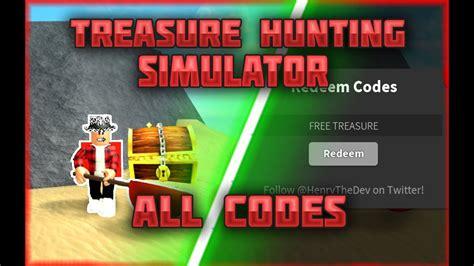 treasure hunt simulator codes   codes youtube