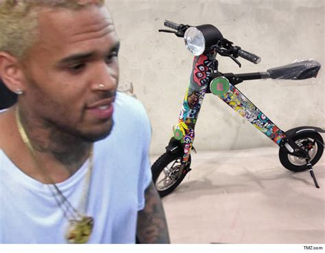 Chris Brown Releases His Customized 'scootebike' [photos