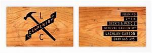 Carpenters logo business card pinterest for Business cards for carpenters