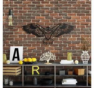 Décoration Murale Métallique : d coration murale m tallique aigle artwall and co ~ Melissatoandfro.com Idées de Décoration