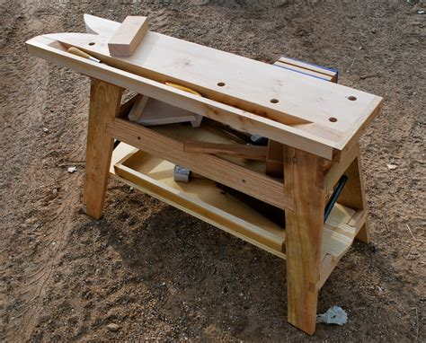 Workbench Stool Plans Saw Bench Update Preindustrial Craftsmanship