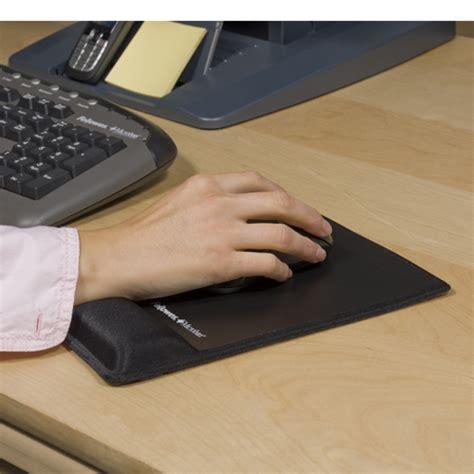 tapis chauffant bureau tapis de souris ergonomique et repose poignet intégré