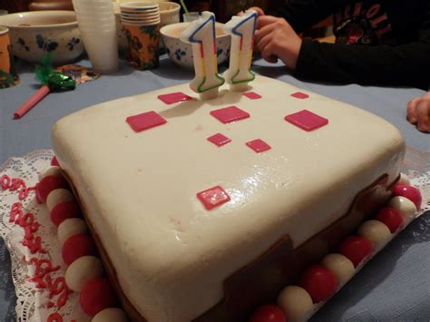 Minecraft Birthday Cake Bonsaizg Galleries Digital