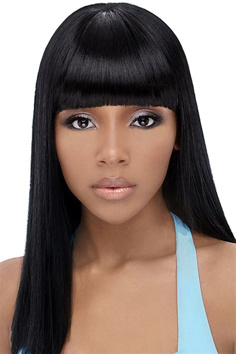 black hairstyles  bangs beautiful hairstyles
