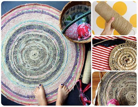tappeti di corda come fare tappeto con spago tutorial