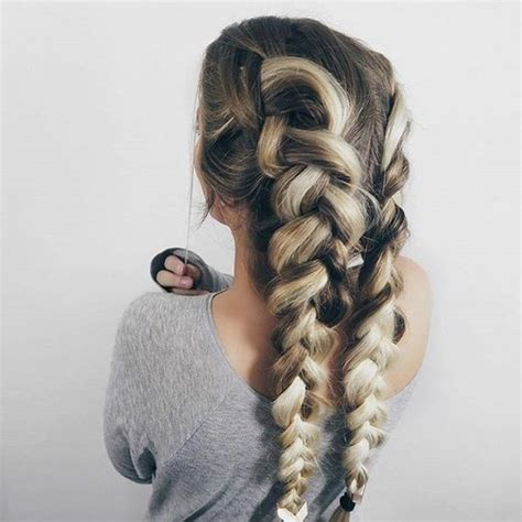 braided hair on tumblr
