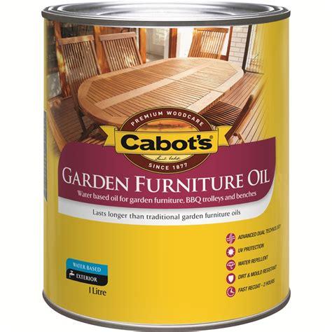 cabots  jarrah water based garden furniture oil