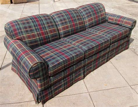 uhuru furniture collectibles sold mad about plaid sofa