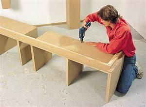 Créer Son Canapé Sur Mesure : cr er une biblioth que de salon sur mesure ~ Dode.kayakingforconservation.com Idées de Décoration