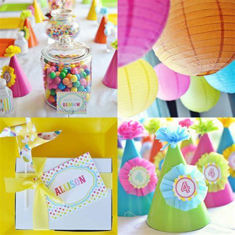 rainbow birthday ideas for popsugar