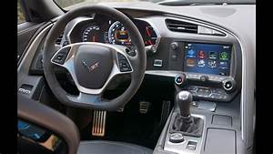 2017 Corvette Grand Sport: Interior Tour and Review - YouTube