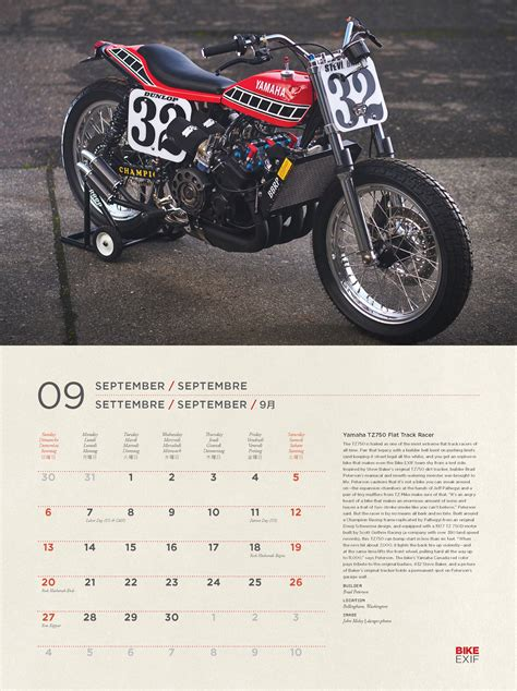 custom motorcycles calendar octane press
