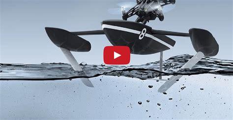 nuovi droni parrot  terra mare  volo notturno