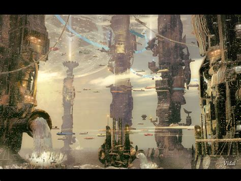 design wallpapers modern science fiction
