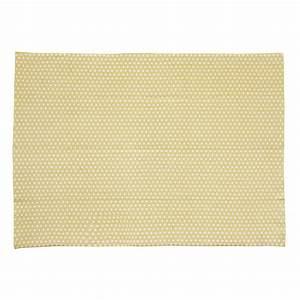 Tapis Jaune Maison Du Monde : tapis en coton jaune moutarde 60 x 120 cm origami ~ Zukunftsfamilie.com Idées de Décoration