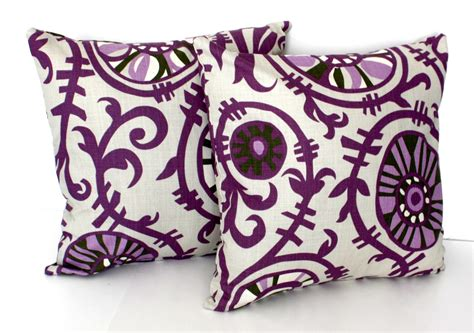 2 decorative pillow covers throw pillows accent by thepillowfight