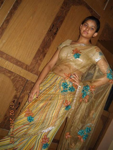 Hottest Desi Teen In Transparent Petticoat Blouse Showing