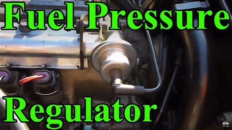 replace  fuel pressure regulator youtube