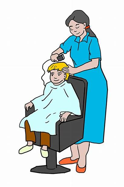 Clipart Cut Disheveled Perruqueries Haircut Razor Buzz