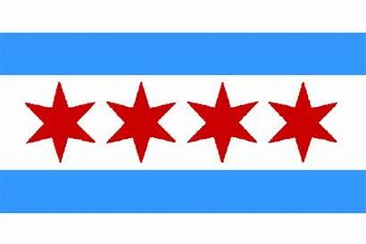 Chicago Flags Illinois Flag Stars Aew Punk