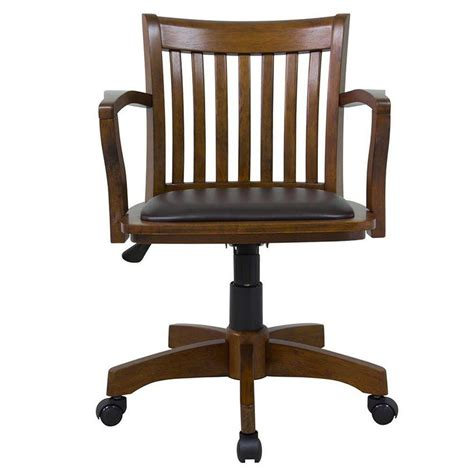 white office chair with arms home decorators collection oxford rubberwood office chair
