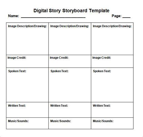 brand story template 5 digital storyboard templates doc pdf free premium templates