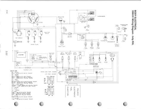 Polari Sportsman Wiring Diagram by 2011 Polaris 500 Sportsman Key Diagram Wiring Parts