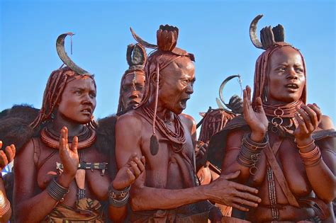 The real reason why the Himba people in Namibia don't bath