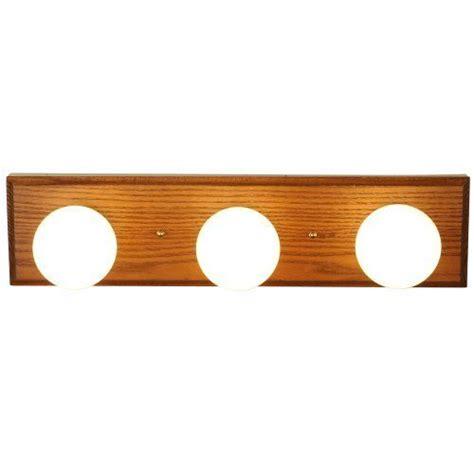 Oak Bathroom Light Fixtures by Af Lighting 671602 18 Inch Vanity Fixture Oak Finish With