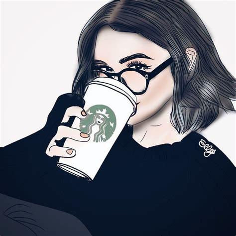 Mydrawing Starbucks Tumblr Girl Pa