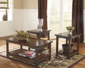 buy ashley furniture t352 13 murphy 3 piece coffee table