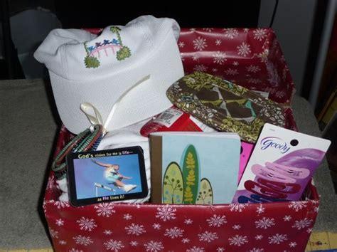 shoe box gift ideas