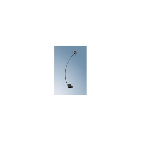 Curved Floor Ls Uk by Searchlight 2731bc Black Curved Halogen Floor L