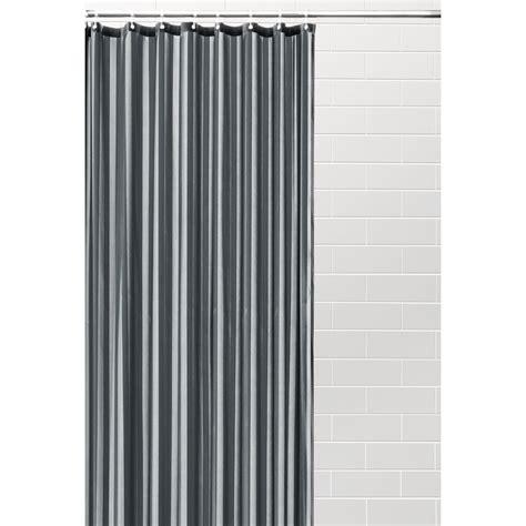 Kmart Australia Sheer Curtains by Jacquard Satin Stripe Shower Curtain Grey Kmart