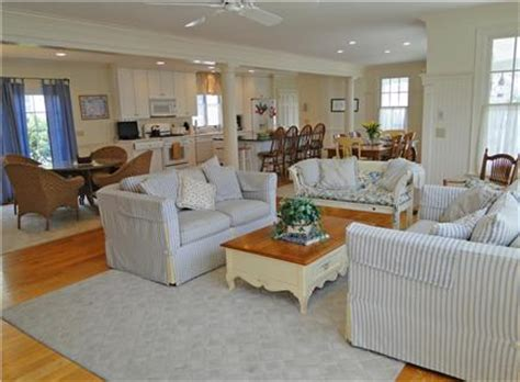 mashpee  seaburypopponesse cape  vacation rental spacious living area  open floor plan