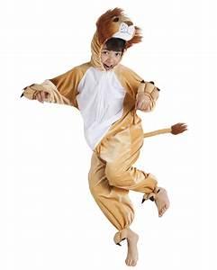 Verkleidung Für Kinder : l wen jumpsuit f r kinder tier verkleidung braun kost me f r kinder und g nstige ~ Frokenaadalensverden.com Haus und Dekorationen